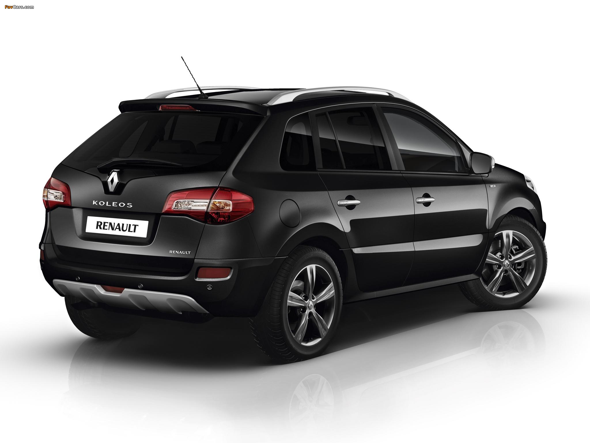 Renault Koleos Bose Edition 2012–13 wallpapers (2048 x 1536)