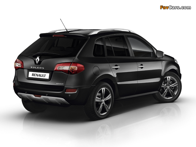 Renault Koleos Bose Edition 2012–13 wallpapers (640 x 480)