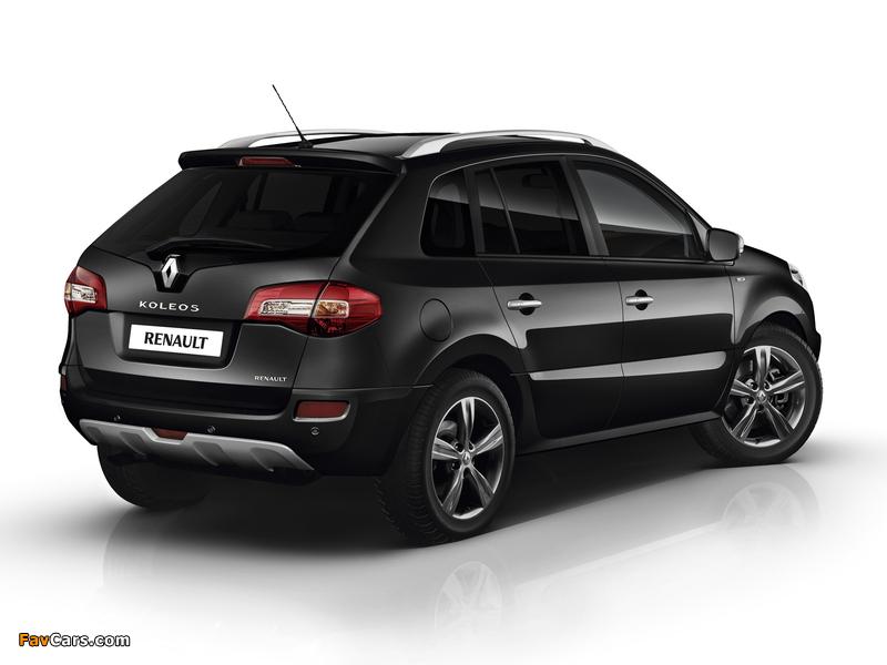 Renault Koleos Bose Edition 2012–13 wallpapers (800 x 600)