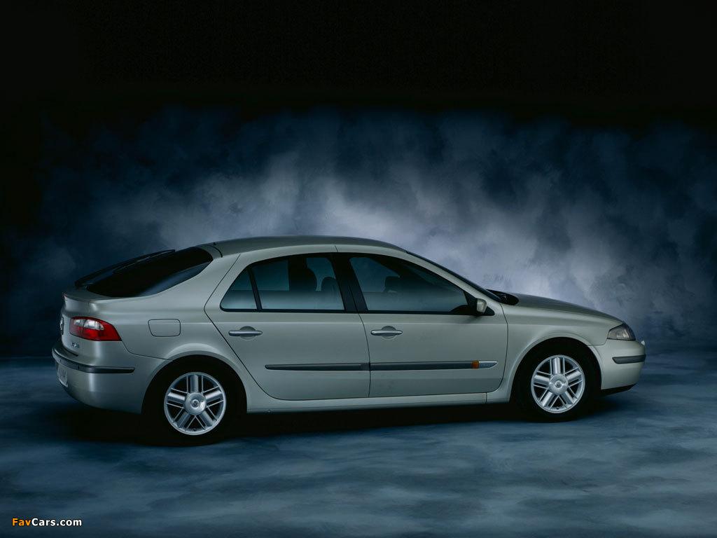 Renault Laguna Hatchback 2000–05 wallpapers (1024 x 768)