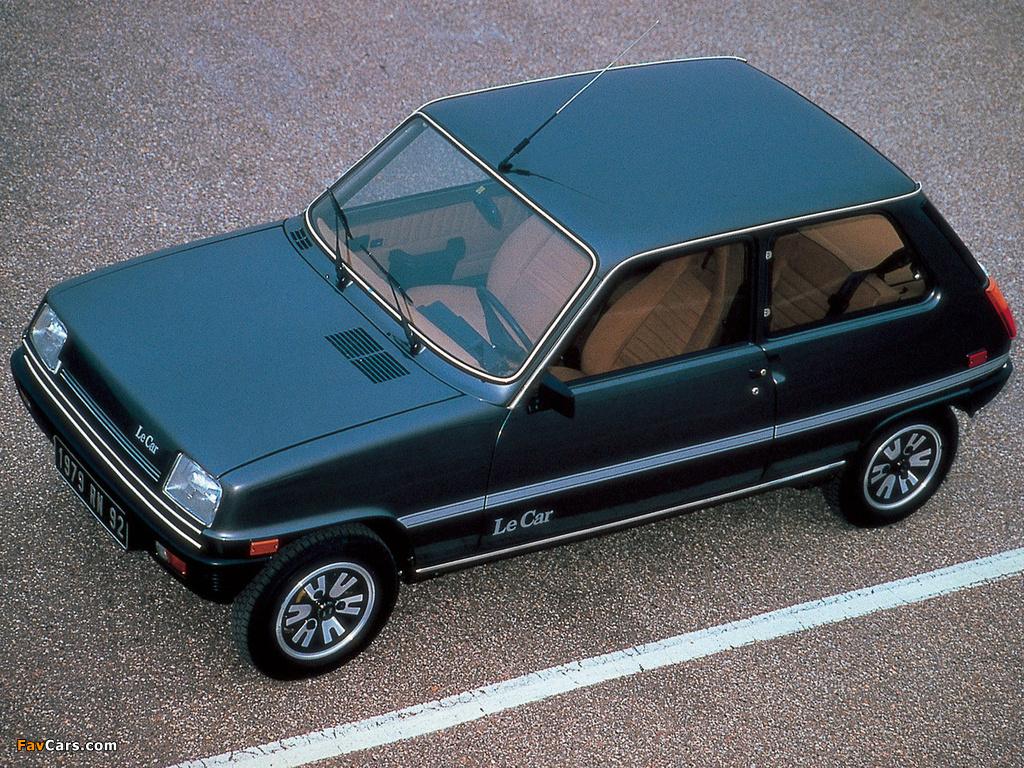 Renault Le Car 3-door 1976–80 images (1024 x 768)
