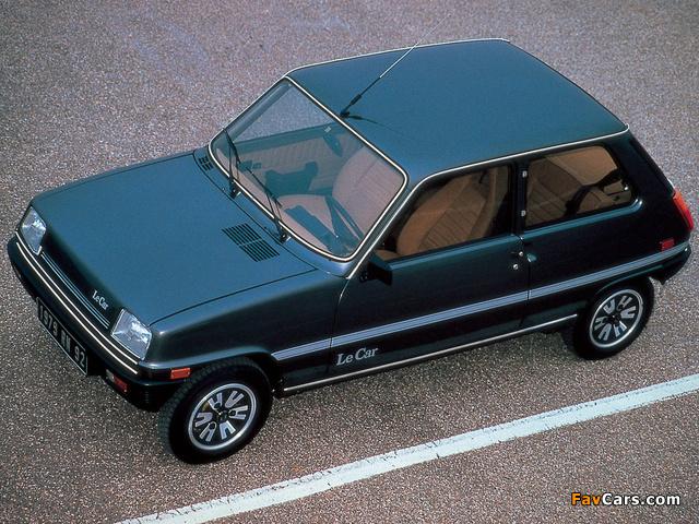 Renault Le Car 3-door 1976–80 images (640 x 480)