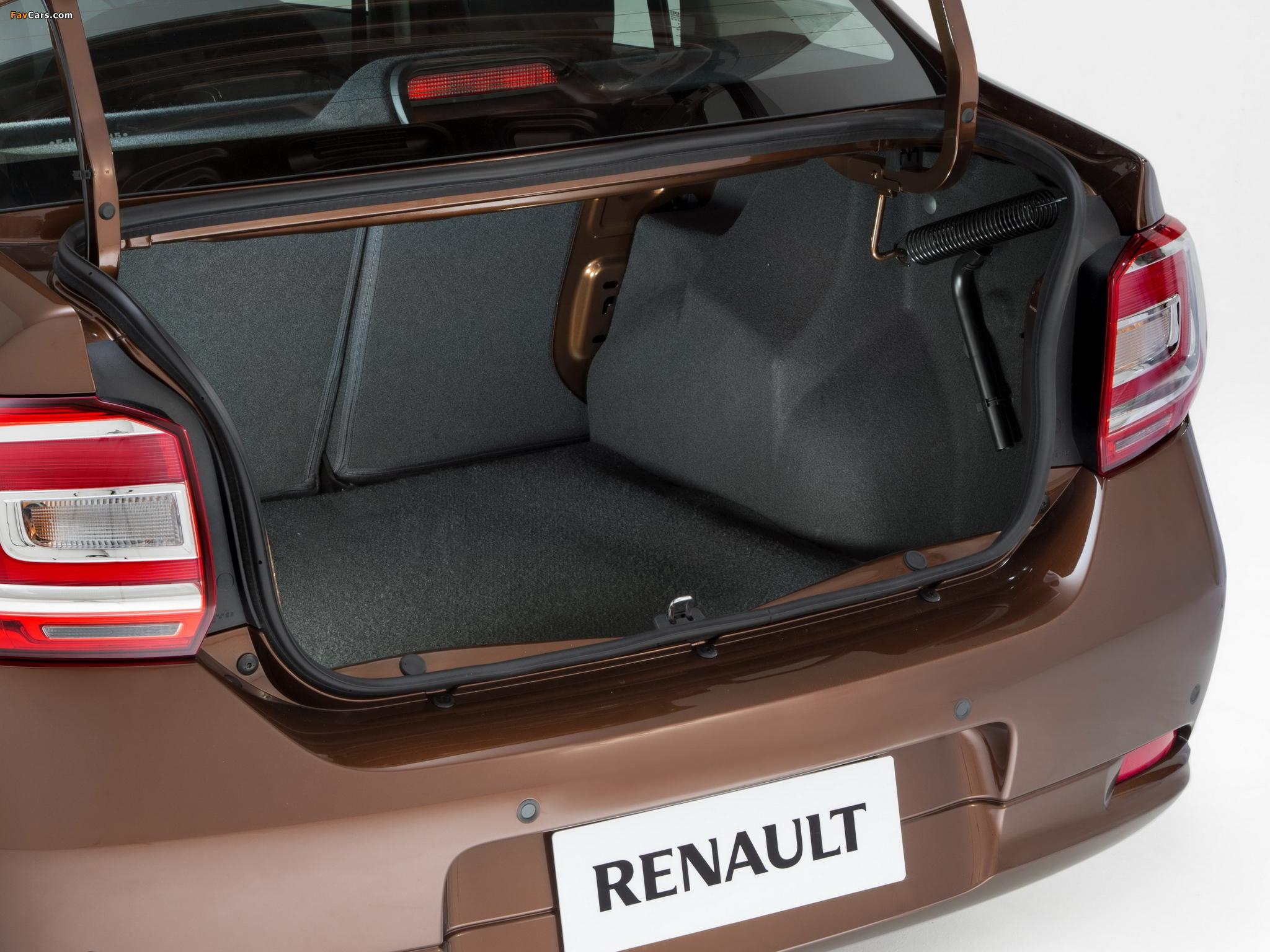 Photos of Renault Logan BR-spec 2013 (2048 x 1536)