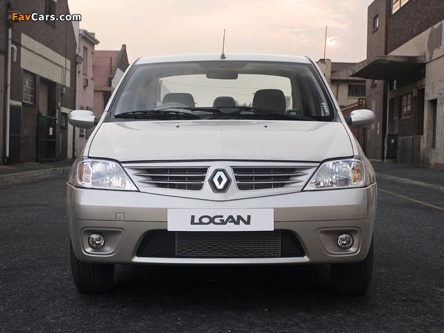 Pictures of Renault Logan ZA-spec 2008–12 (640 x 480)
