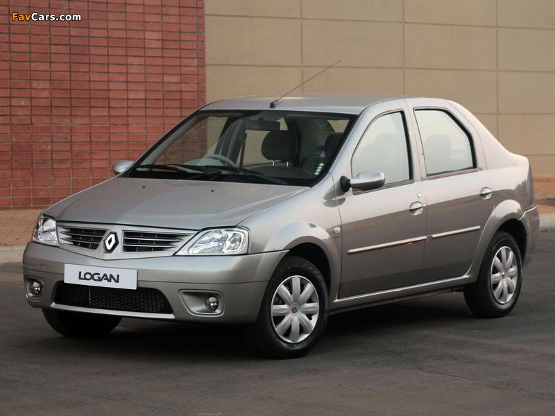 Renault Logan ZA-spec 2008–12 photos (800 x 600)