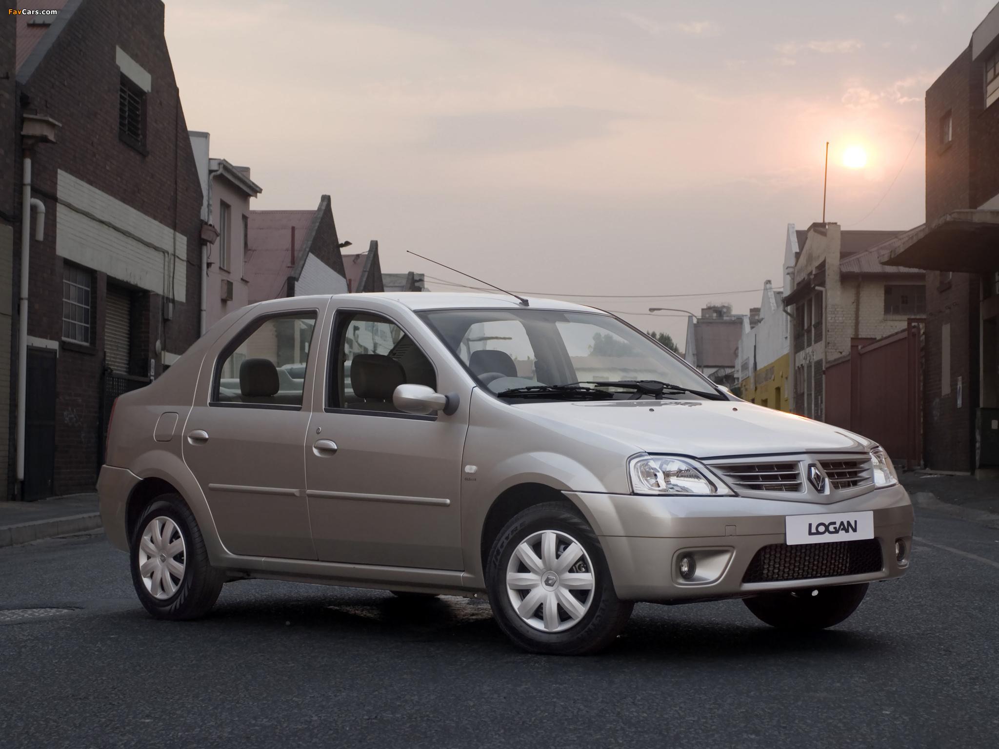 Renault Logan ZA-spec 2008–12 photos (2048 x 1536)