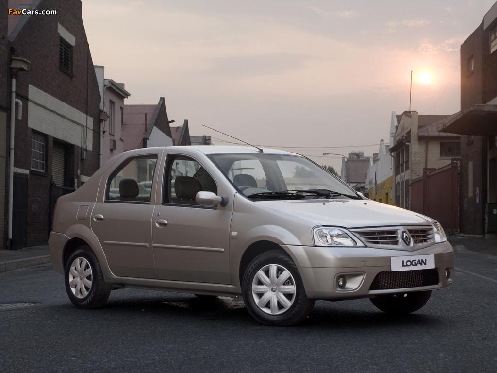 Renault Logan ZA-spec 2008–12 photos (1024 x 768)