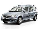 Renault Logan MCV 2009–13 images