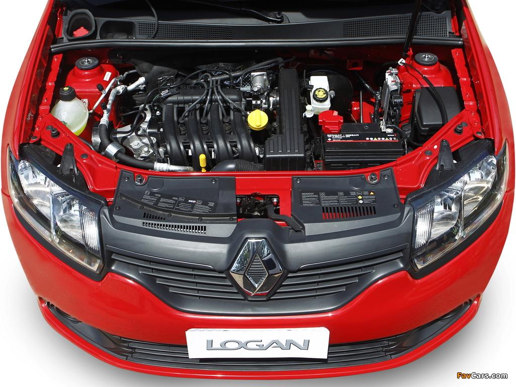Renault Logan BR-spec 2013 photos (1024 x 768)