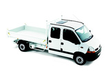 Images of Renault Master Double Cab Pickup 2003–10