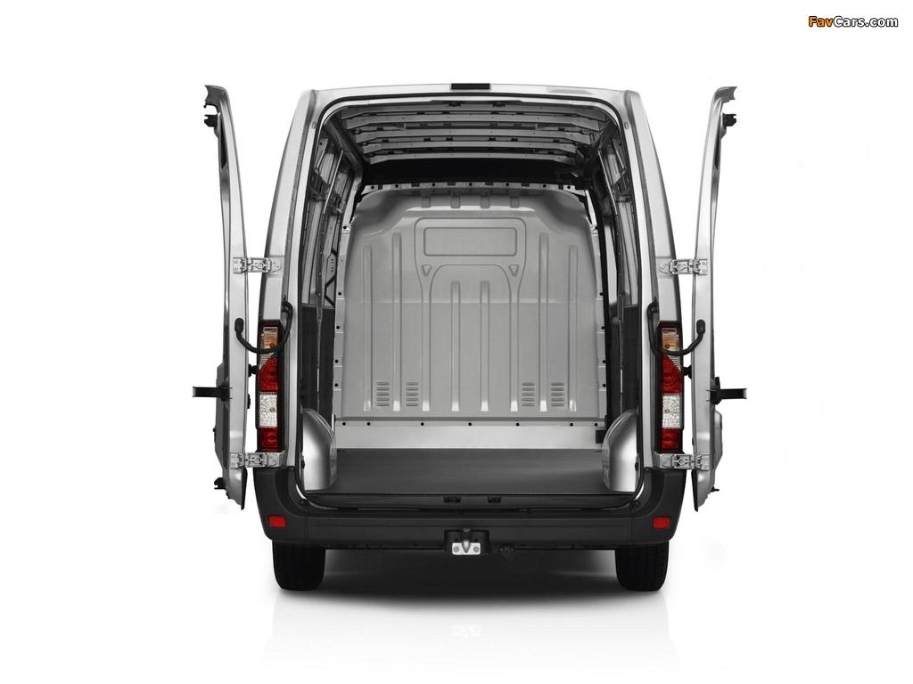 Images of Renault Master Van 2010 (1024 x 768)