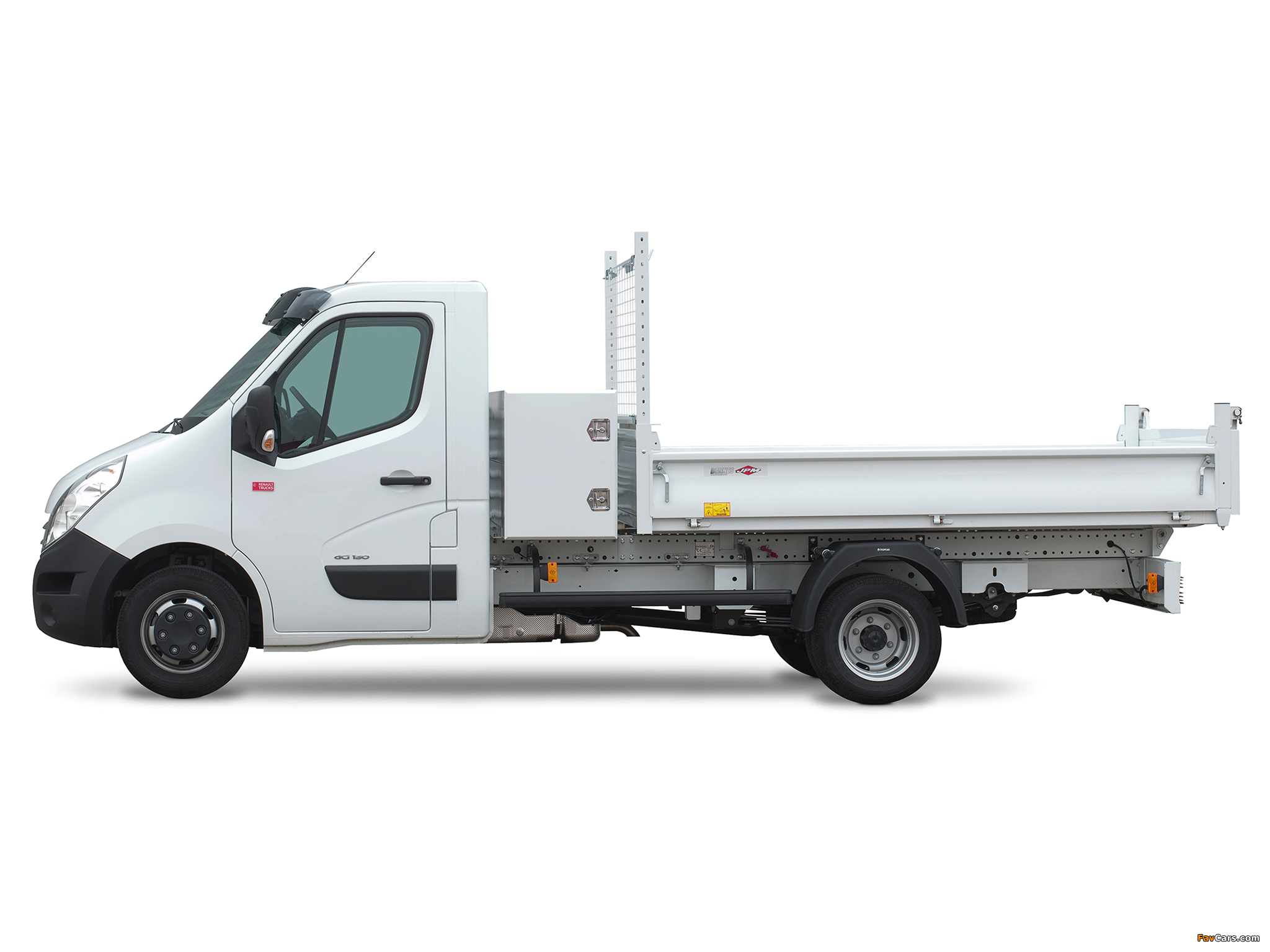 Images of Renault Master Pickup 2010 (2048 x 1536)