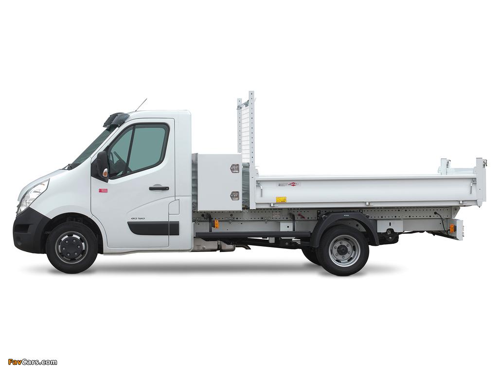 Images of Renault Master Pickup 2010 (1024 x 768)