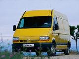 Photos of Renault Master Van 1997–2003