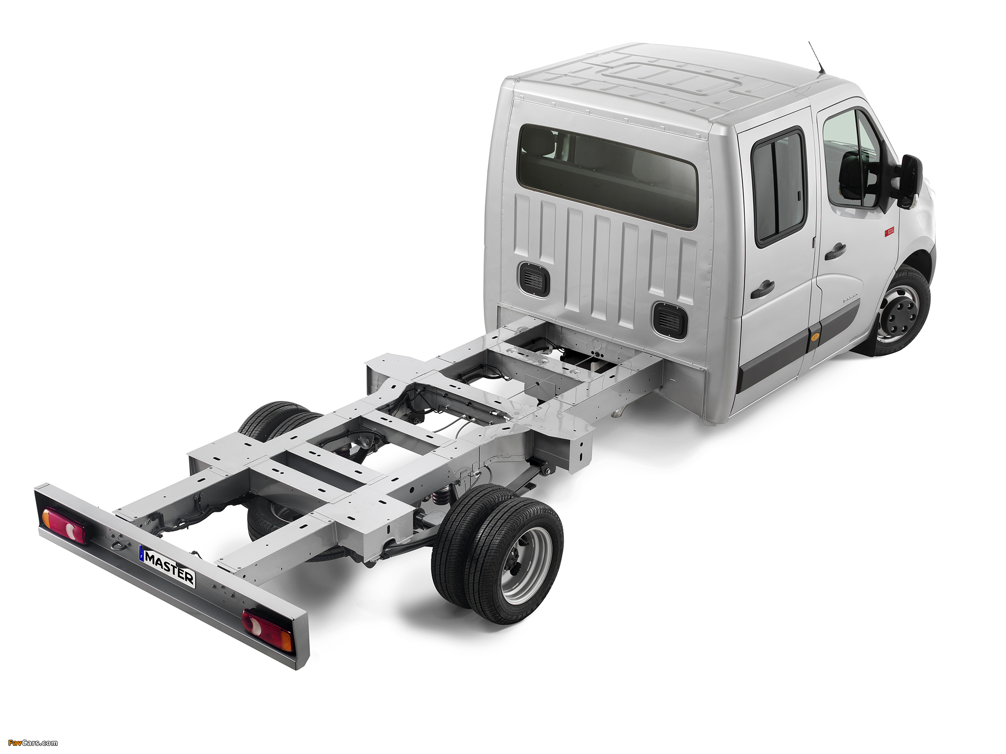 Renault cab chassis