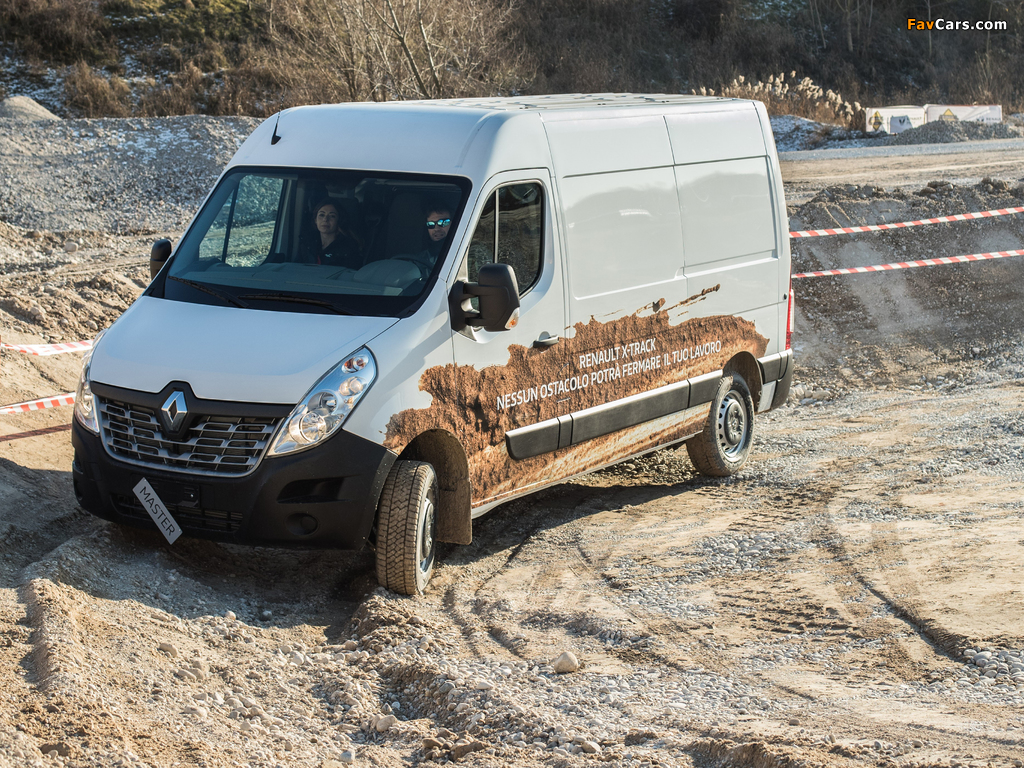 Pictures of Renault Master X-Track L2H2 2016 (1024 x 768)