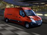 Renault Master Van LWB 2010 images