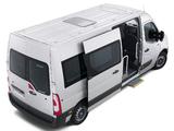Renault Master Minibus LWB 2010 photos