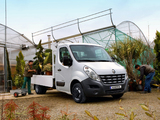 Renault Master Pickup 2010 pictures