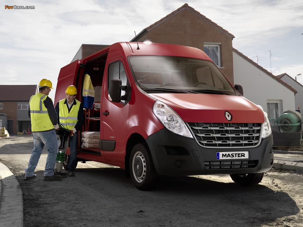 Renault Master Van 2010 pictures (1024 x 768)