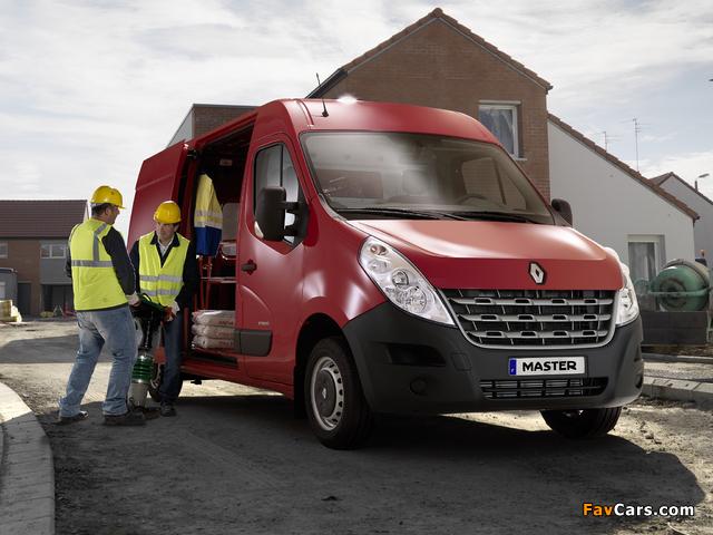 Renault Master Van 2010 pictures (640 x 480)