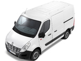 Renault Master L1H1 Van 2010 wallpapers