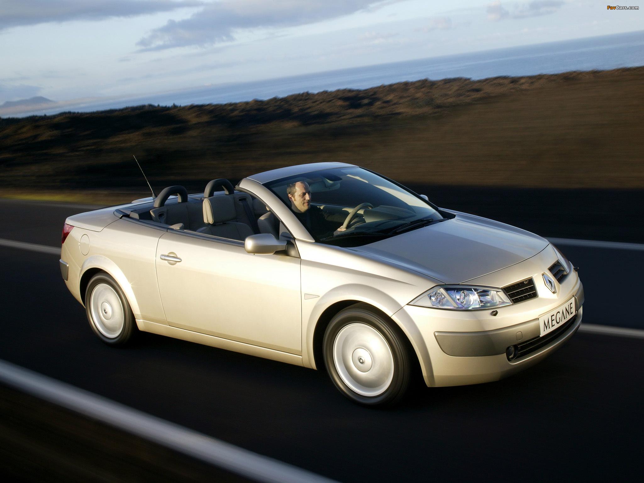 Images of Renault Megane CC 2003–06 (2048 x 1536)