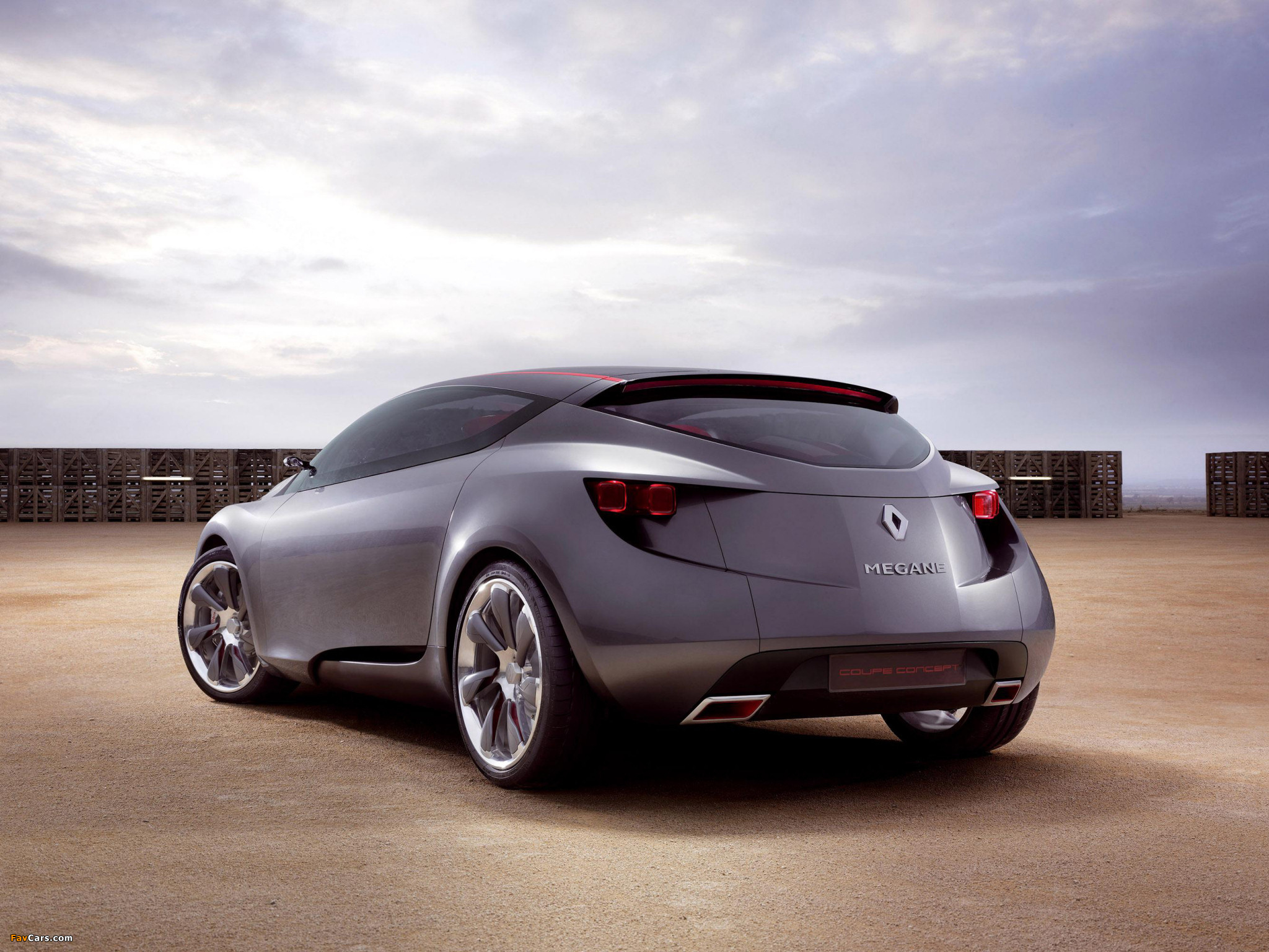 Images of Renault Megane Coupe Concept 2008 (2048 x 1536)