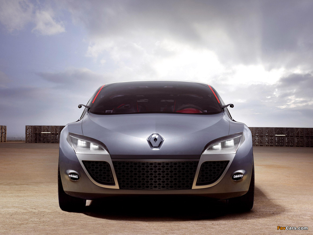 Images of Renault Megane Coupe Concept 2008 (1024 x 768)