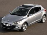 Images of Renault Mégane UK-spec 2008–12
