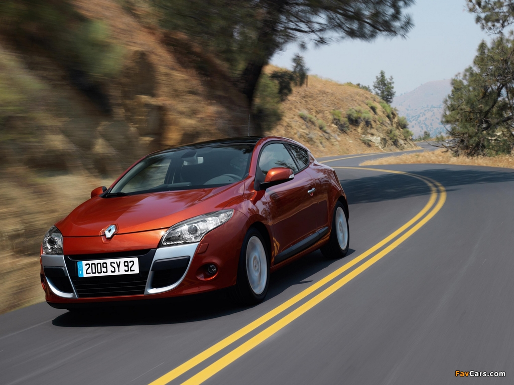Images of Renault Megane Coupe 2009 (1024 x 768)