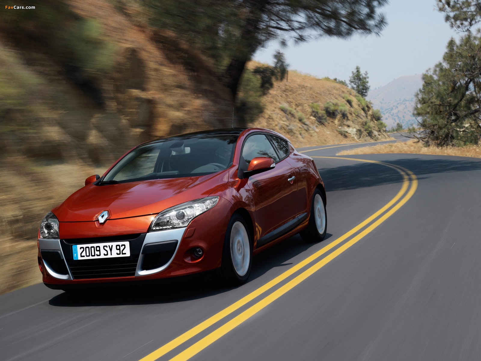 Images of Renault Megane Coupe 2009 (1600 x 1200)