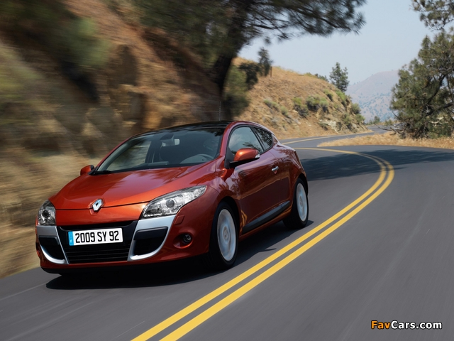 Images of Renault Megane Coupe 2009 (640 x 480)