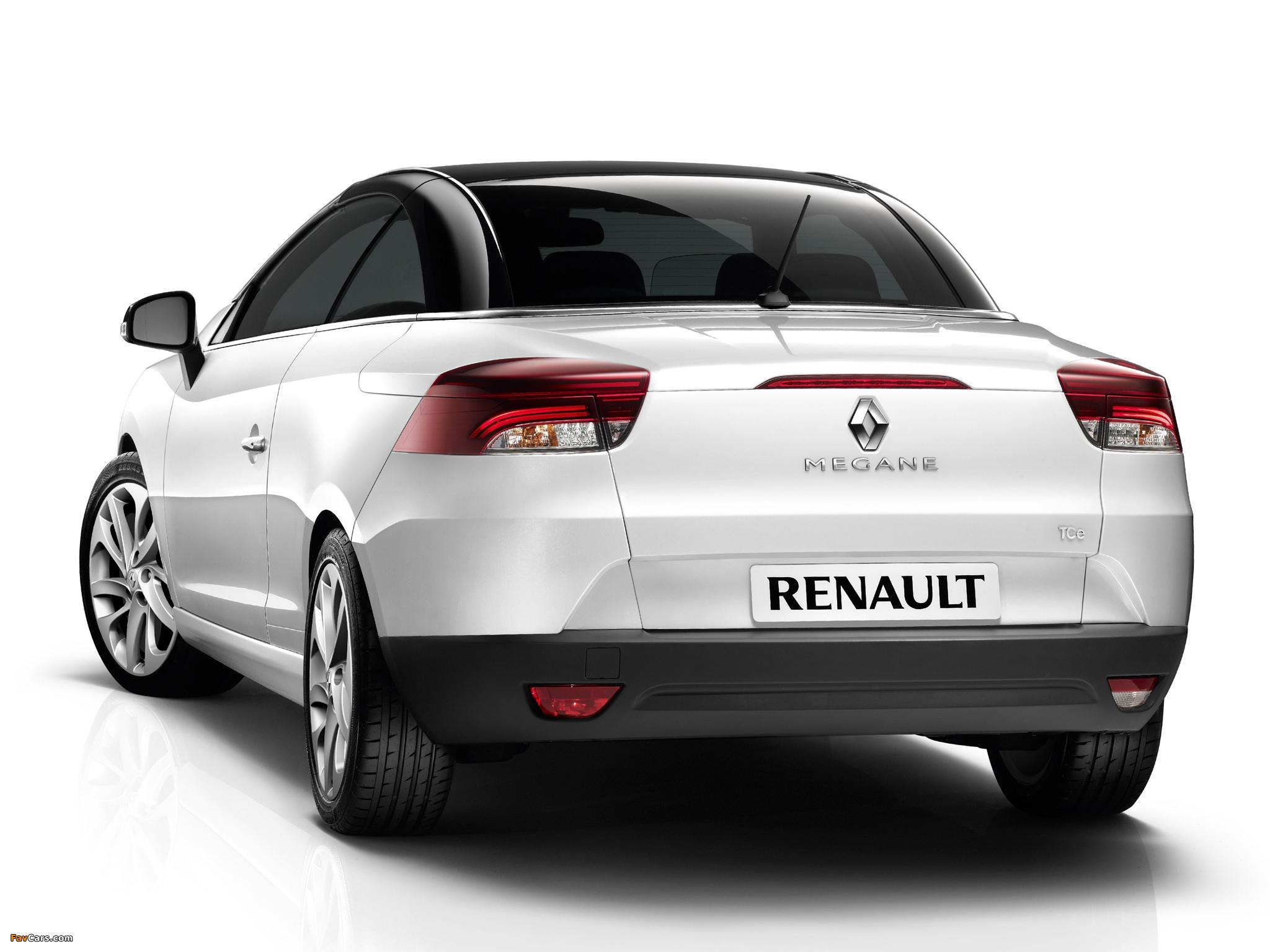 Images of Renault Mégane Coupé-Cabriolet 2010–14 (2048 x 1536)
