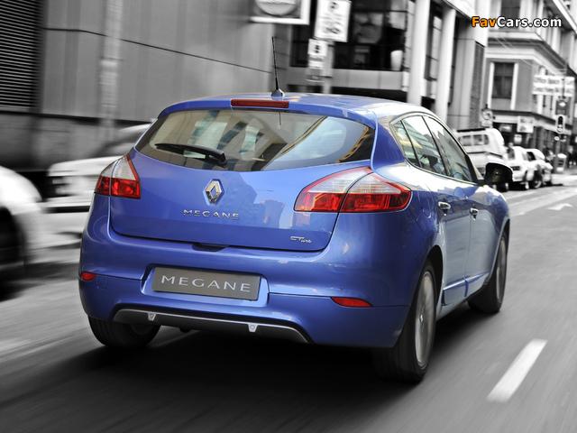 Images of Renault Mégane GT Line ZA-spec 2012–14 (640 x 480)