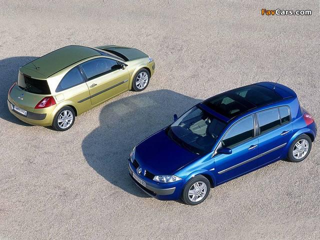 Images of Renault Megane (640 x 480)