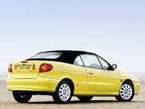 Photos of Renault Megane Cabrio UK-spec 1999–2003