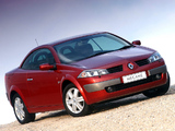 Photos of Renault Megane CC ZA-spec 2003–06