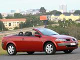 Photos of Renault Megane CC ZA-spec 2003–06