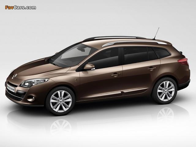 Photos of Renault Mégane Estate XV de France 2011 (640 x 480)