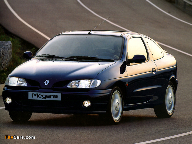 Pictures of Renault Megane Coupe 1995–99 (640 x 480)