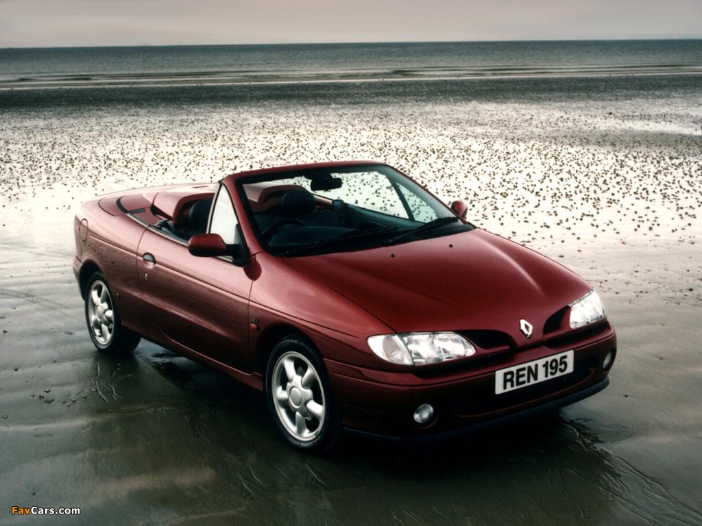 Pictures of Renault Megane Cabrio UK-spec 1997–99 (1024 x 768)