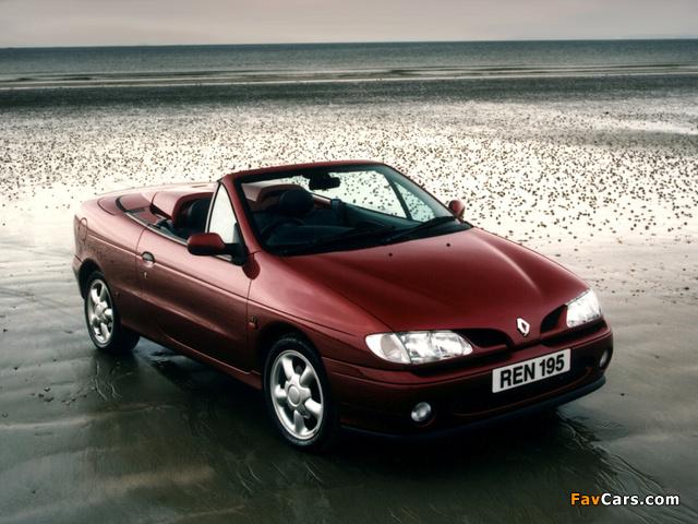 Pictures of Renault Megane Cabrio UK-spec 1997–99 (640 x 480)