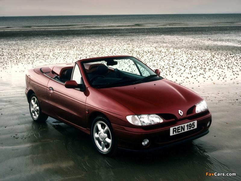 Pictures of Renault Megane Cabrio UK-spec 1997–99 (800 x 600)