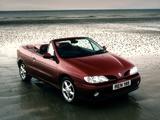 Pictures of Renault Megane Cabrio UK-spec 1997–99