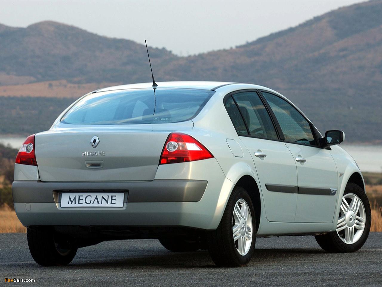 Pictures of Renault Megane Classic ZA-spec 2003–06 (1280 x 960)