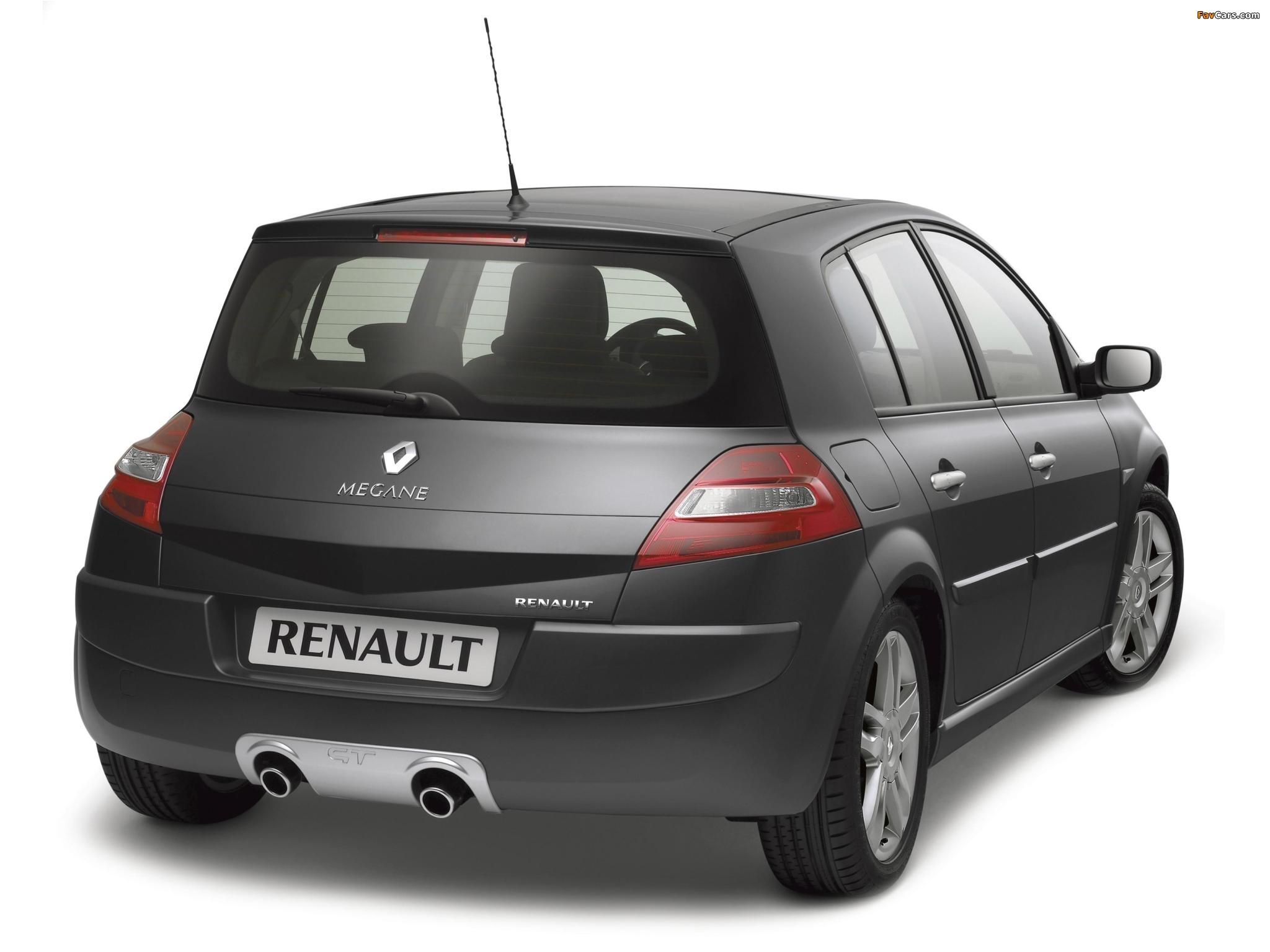 Pictures of Renault Megane GT 5-door 2006–08 (2048 x 1536)