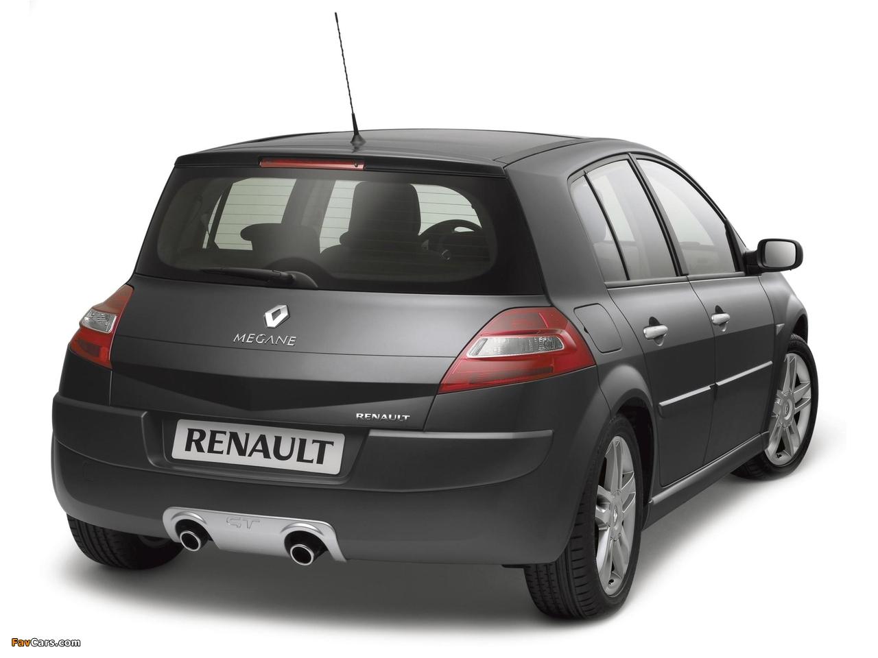 Pictures of Renault Megane GT 5-door 2006–08 (1280 x 960)