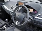 Pictures of Renault Mégane UK-spec 2008–12