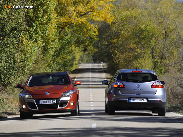 Pictures of Renault Megane (640 x 480)